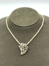 Kleine Halskette, Perlen mit Gold und Diamanten