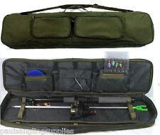 7 Ft Fishing Spinning Set Kit Rod Reel Spinners Bait Box Tackle Travel Case Bag
