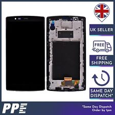 For LG G4 H815 H810 LCD Display Touch Screen Digitizer Assembly Frame Black UK