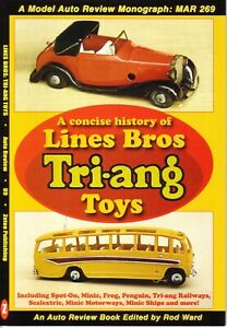 Book- Lines Bros Tri-ang History - Spot-On Minic Frog Scalextric  - Auto Review