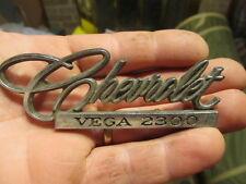 1971 1972 Chevrolet Vega 2300 Deck Lid Emblem #1 9870383