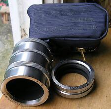 genuine (pentax) Ashaiflex extension tubes set (japan)  m37