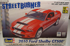 2010 FORD SHELBY GT500 MUSTANG 1:25 SCALE REVELL PLASTIC MODEL CAR KIT