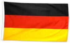 Fahne Flagge Deutschland 90x150 cm, ohne Wappen mit Ösen
