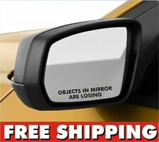 2 Objects in Mirror are Losing vinyl sticker for Honda JDM turbo AWD racing set