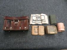 Wwii German Army Medic Pouch-Dated 1939-W/ Contents-Original-Scarce