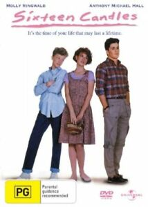 Sixteen Candles DVD - Molly Ringwald - Anthony Michael Hall - New & Sealed