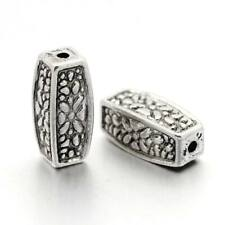 20 x Tibetan silver beads spacers size 12 x 5mm