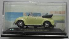 Hongwell Cararama - VW Käfer Cabrio lindgrün 1:72