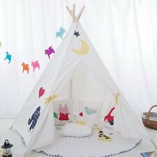 Children's Teepee. Kids play tent / playhouse / wigwam Tipi Tepee. UK STOCK