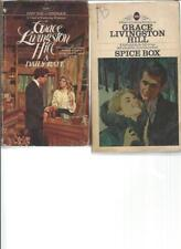 GRACE LIVINGSTON HILL -  A DAILY RATE- A LOT OF 2 BOOKS