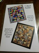 Giggling Gecko Designs T-Block Puzzler Quilt Pattern