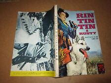 RIN TIN TIN & RUSTY  RACCOLTA NUMERO 25 NOVEMBRE 1969 EDITRICE CENISIO