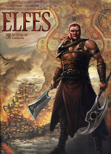 BD  elfes tome 9  Dédicacée Gwendal lemercier neuf !