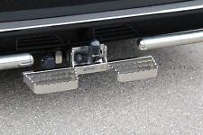 MARCHE-PIEDS INOX DOUBLE L600 VW T5 03-15, GARANTI 6ANS, SE FIXE SUR L'ATTELAGE