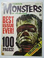 Vintage August 1961 Famous Monsters of Filmland Magazine #13