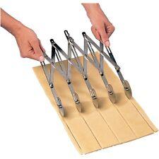 Extendable Dough Cutter 5 Wheels Catering Baking Accessories Kitchen Equipment