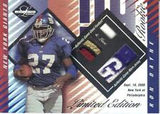 2000 LEAF LIMITED EDITION BALL LACE JERSEY #'ed 14/25  RON DAYNE #409 Giants