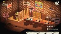Animal Crossing Large Japanese Izakaya Sushi Furniture Set