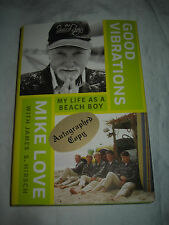 Good Vibrations: My Life As a Beach Boy by Mike Love SIGNED 1st/1st 2016 HCDJ