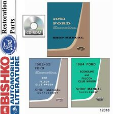 1961 1962 1963 1964 Ford Econoline Shop Service Repair Manual CD OEM Guide