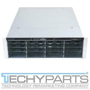Supermicro CSE-836 3U Case Rackmount Server Chassis 3Gbps SAS836EL1 2x 800W PSUs