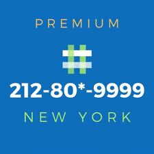 New listing 212 Area Code Phone Number - Rare Vanity Number [80*-9999]