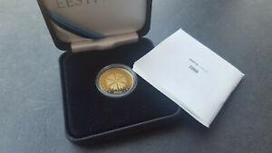 "ESTONIA 100 € Euro gold 2018 - ""Republic of Estonia 100"" 1918-2018"