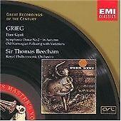 Edvard Grieg -  Peer Gynt; Symphonic Dance No. 2; In Autumn (CD 1998) Beecham