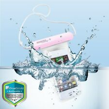 Lot 5x Pink Medium Waterproof Underwater Pouch Bag Case Cover For iPhone Samsung