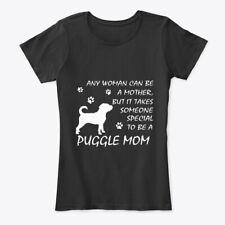 Fun Puggle Mom Dog Mama Gifts Women's Premium Tee Women's Premium Tee T-Shirt