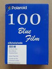 Polaroid Type 100 Blue Silk Instant Film Paul Giambarba  (expired) - Cold Stored