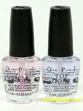 OPI Natural Nail Polish Duo Pack 15ml/0.5fl.oz Base Coat & Top Coat