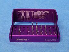 Ss White Cosmetic Trimming Amp Finishing Dental Bur Block Kit Free Usa Shipping