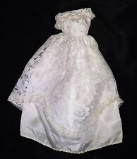 Vintage Oleg Cassini Barbie Size Wedding Dress