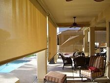 Shatex 90% 4ftx10ft Heavy Shade Fabric Roll w/ Free Hang Clips Wheat Color