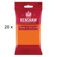 5 Kg Renshaw Ready Roll Icing Fondant Cake Regalice Sugarpaste TIGER ORANGE