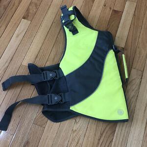 Good 2 Go Yellow/ Gray Dog Flotation Life Preserver Vest XL