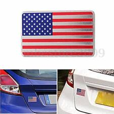 American USA US Flag Emblem Sticker Metal Badge Decal Decor For Car Truck Auto