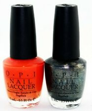 O.P.I. Nail Lacquer Nail Polish Set of 2 Polish Multi Color Set Nail Polish New