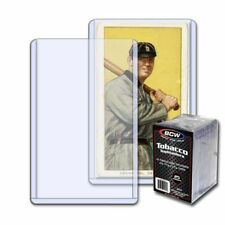 (100) BCW TOBACCO CARD TOPLOAD HOLDER - 2 1/16 X 3 1/8