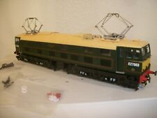 HELJAN 77051 EM2 E27003 DC DCC SOUND BR Lined Green With Half Yellow Panels