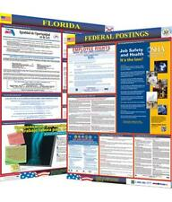 Osha4less Laminated Florida State and Federal Labor Law Poster (FL-CB), New, Fre