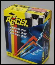 SBC CHEVY V8 283 327 307 350 400 ACCEL 90º SPARK PLUG WIRES ASSEMBLED # 4044