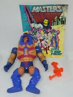 Mattel Masters of the Universe Men E Faces Action Figure Complete With Comic