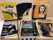 Huge Lot Vintage Piano Organ Guitar Sheet Music Books !Read!