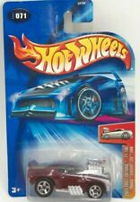 Hot Wheels 2004 #071 First Editions 71 of 100 Tooned Camaro Z28 1969 Dark Red