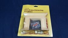 Dollhouse Furniture Accessories Houseworks Americana Flickering Fireplace HW2022