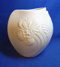 Vintage German Kaiser White Matt Porcelain Table Vase Design M. Frey #BM2