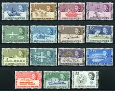 BR. ANTARCTIC TERRITORY 1963 SG 1-15 SC 1-15 MLH COMPLETE SET 15 STAMP £145/$230